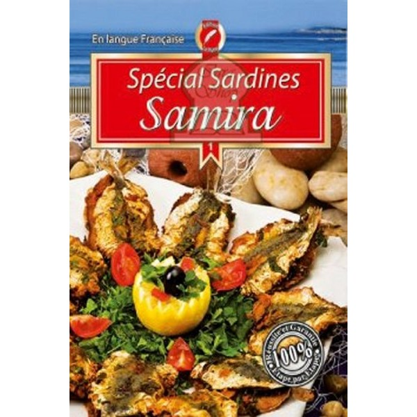 cirta culture shop livre de cuisine special sardines samira. Black Bedroom Furniture Sets. Home Design Ideas